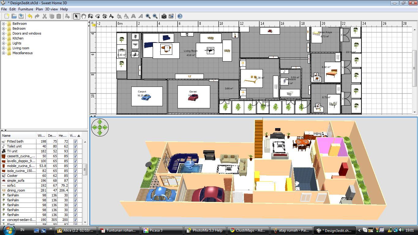 Software Membuat Desain Rumah Gratis